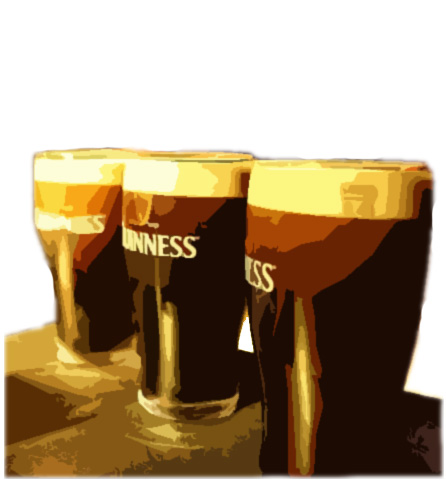 3 Pints Of Guinness